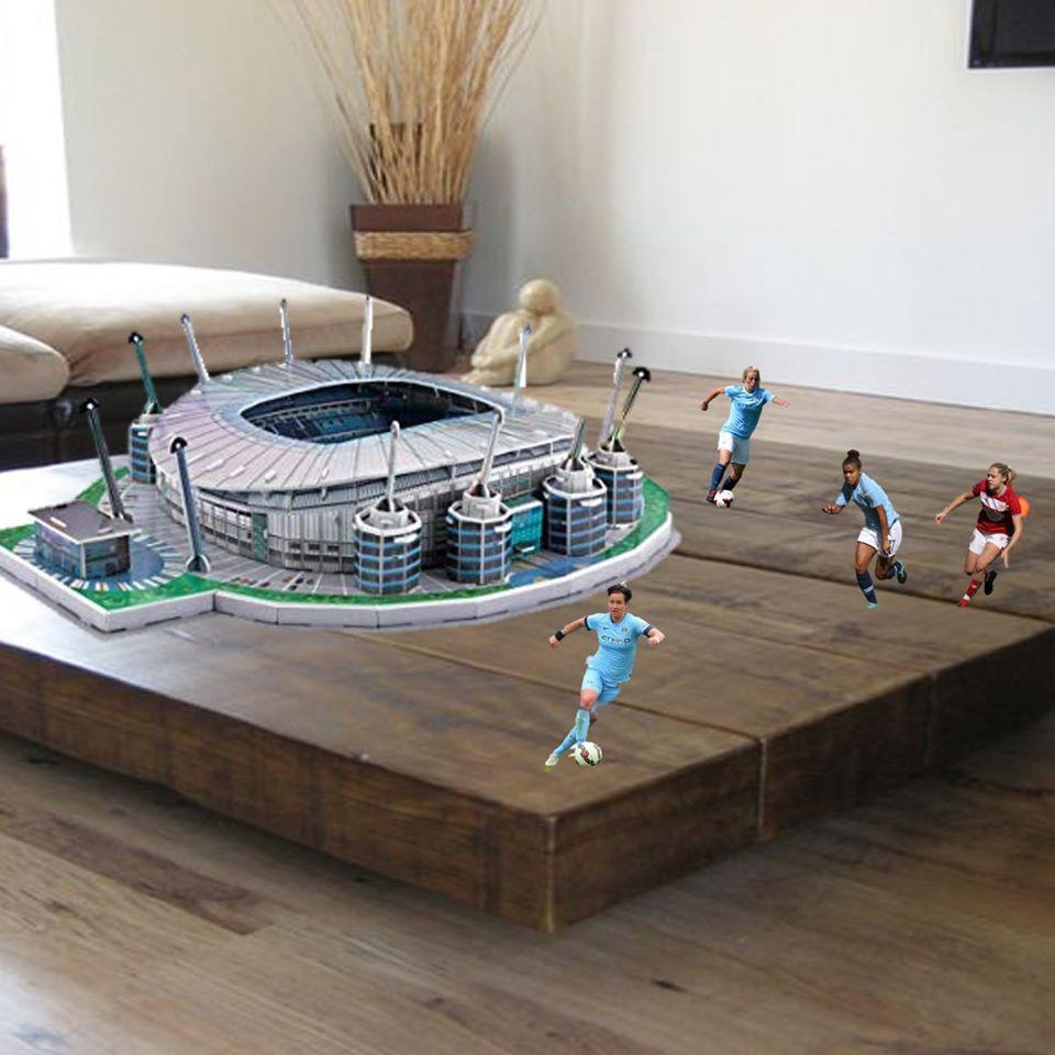 Manchester City football AR