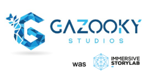 gazooky & immersive storylab logo