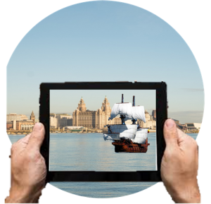 augmented reality ship